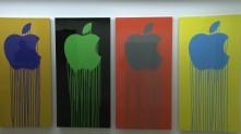 apple qui coule